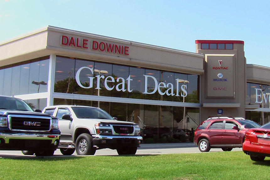 Design Build Project Photo - Dale Downie Auto Dealership in London Ontario