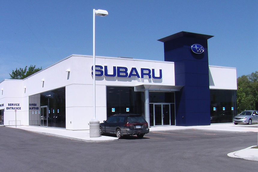 Design Build Project Photo - Subaru Dealearship London Ontario