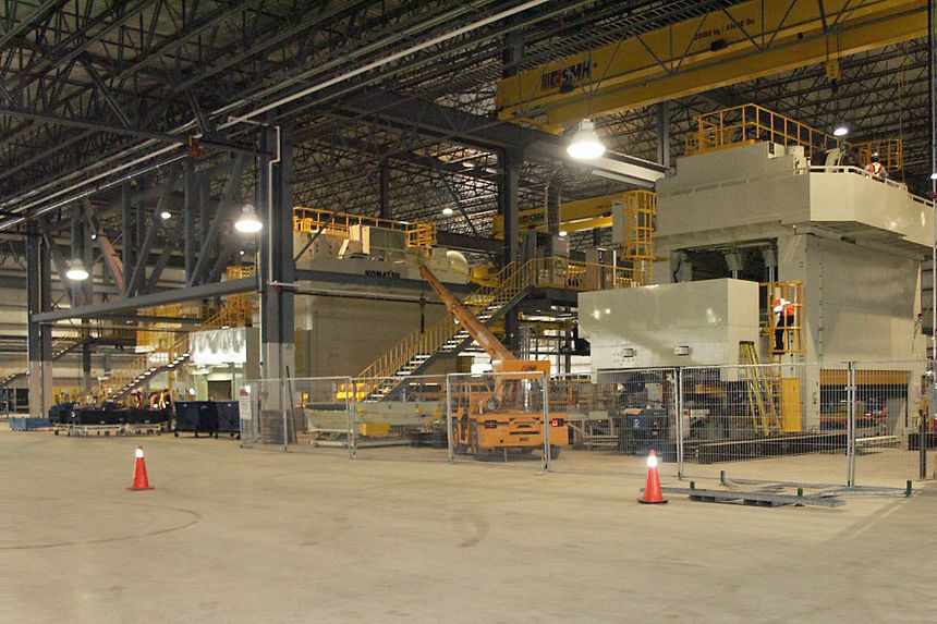 Industrial Project Photo - Toyotetsu Canada Inc. Auto Parts Plant